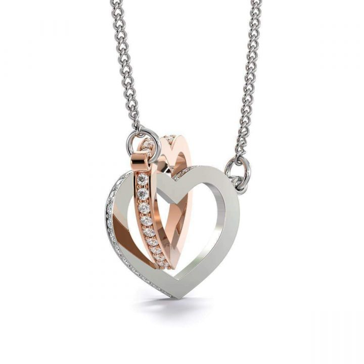 Wife Gift For Wife Birthday To My Future Wife Inseparable Love Pendant 18k Rose